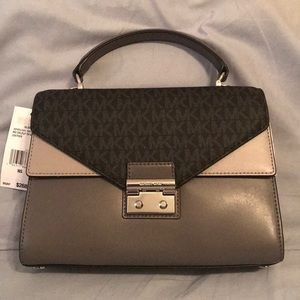 Michael Kors Satchel Leather